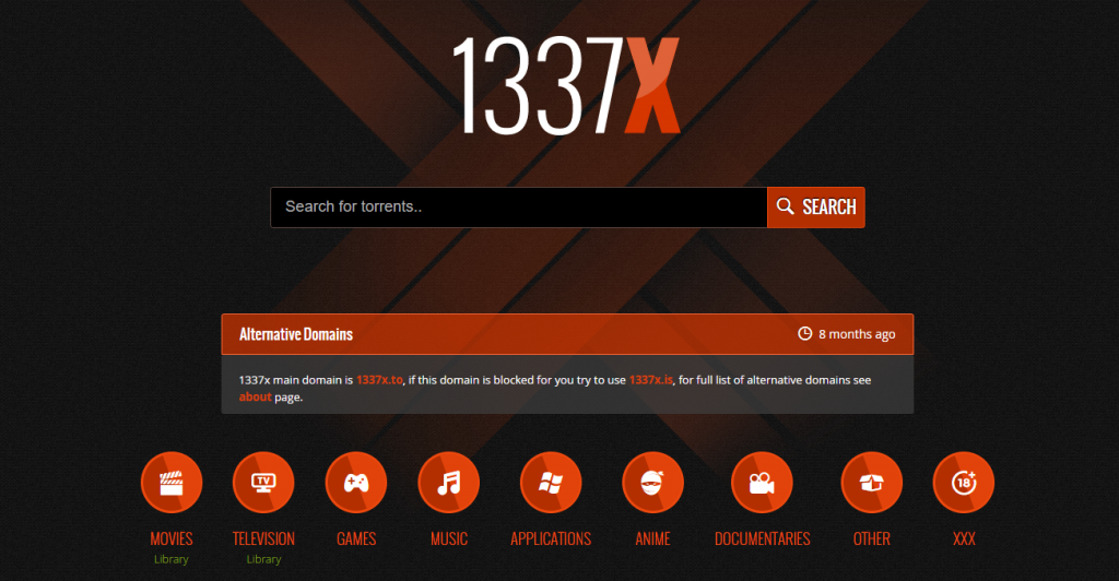 1337x torrent website