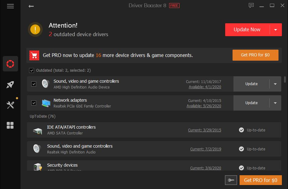 db update driver