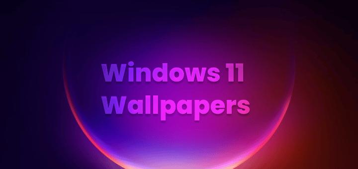 Windows 11 Leaked Wallpapers