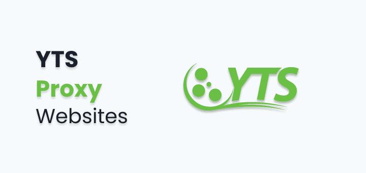yts proxy list