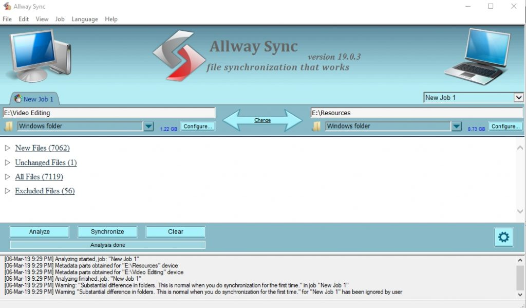 Allway sync for windows for free