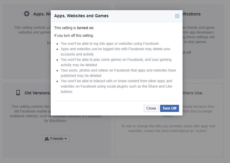 Change Your Facebook Settings To Opt Out of Platform API Sharing