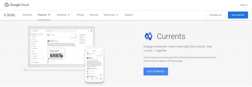 Google Currents for gsuite