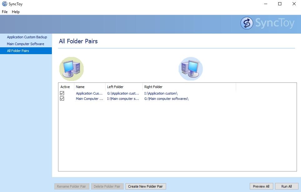 SyncToy by Microsoft for sync folder
