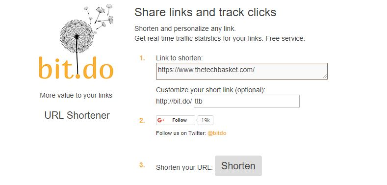 bit.do URL Shortener