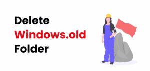delete old windows files