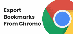 How to Export Bookmarks From Chrome [Step By Step] 2