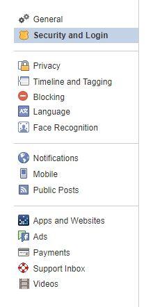 fb settings pane
