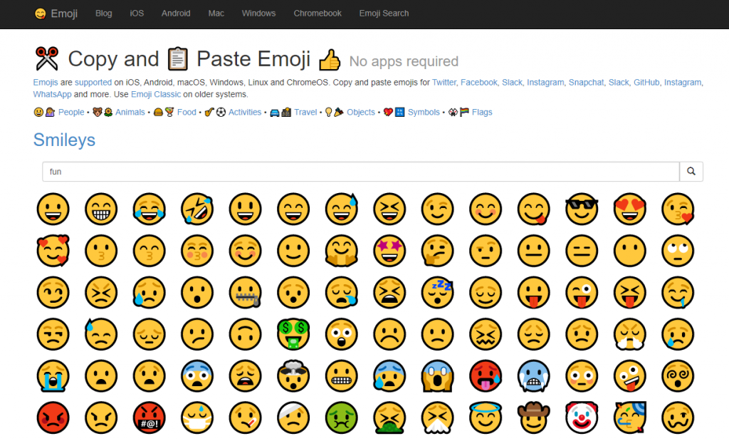 get emoji website