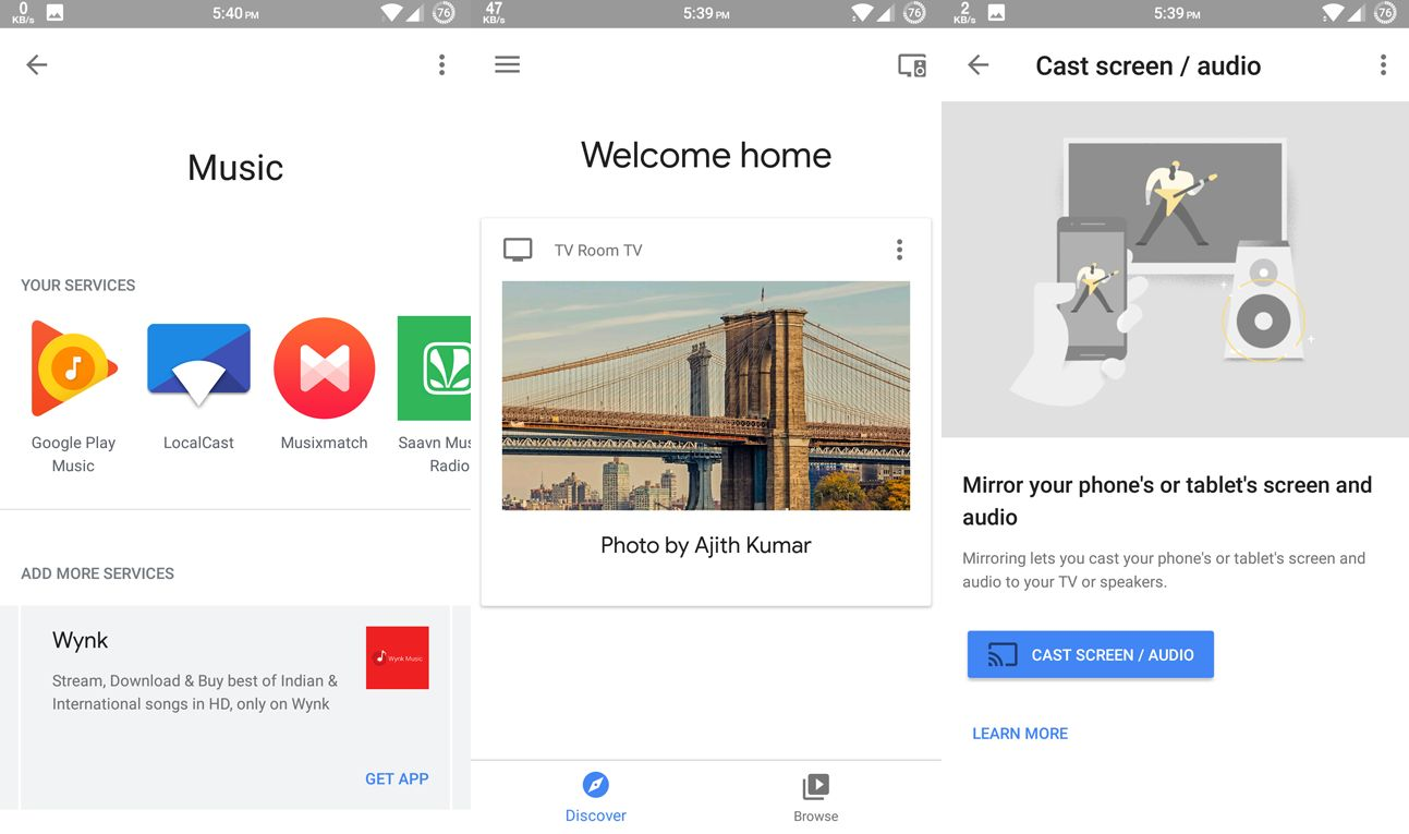 Google Home Android App