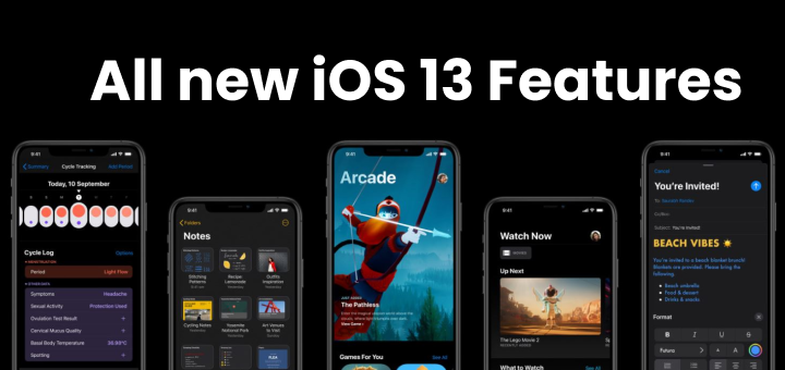 iOS 13 New Features List, Supported Device, Wallpaper and Release Date