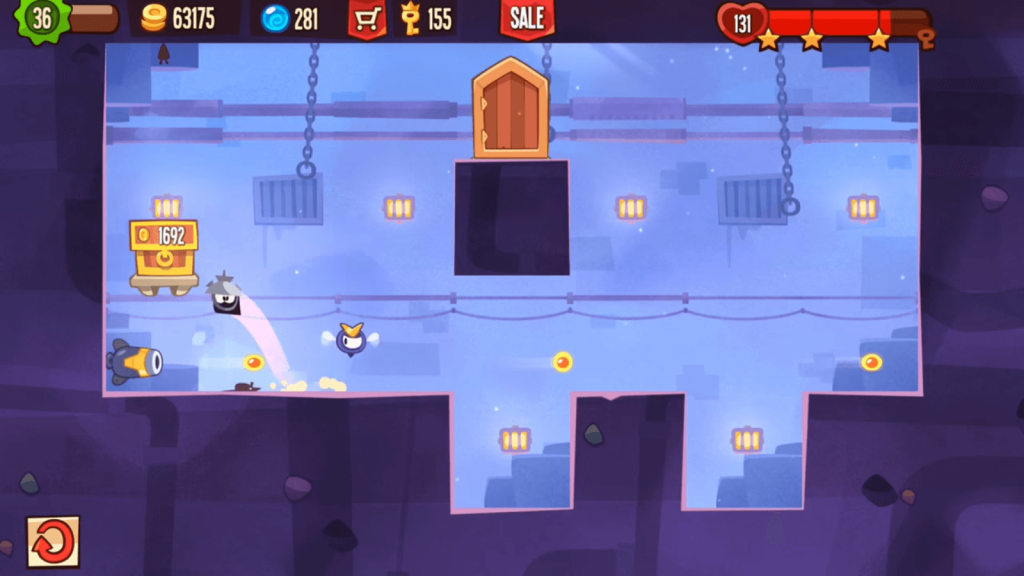 king of thieves in game scene