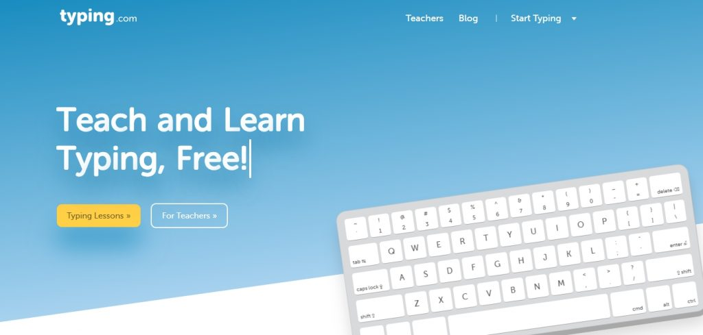 learn typing com home