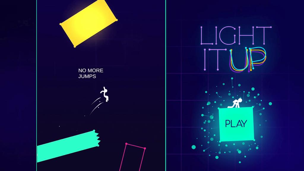 light it up in game scene