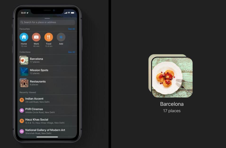 maps app in ios13