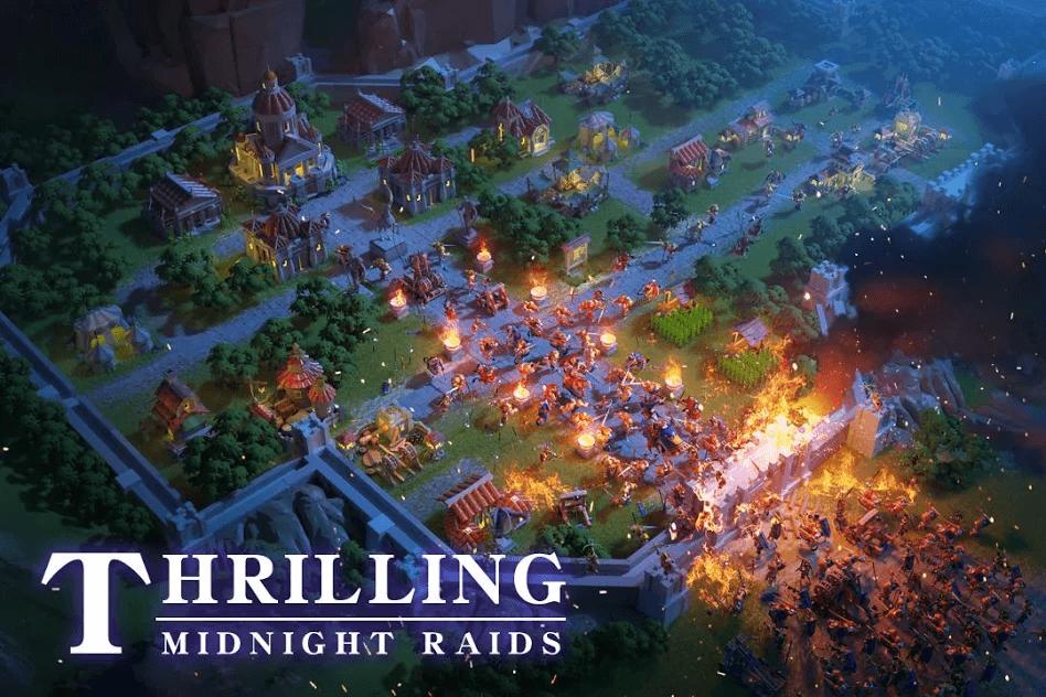 rise of kingdoms lost crusade in game scene