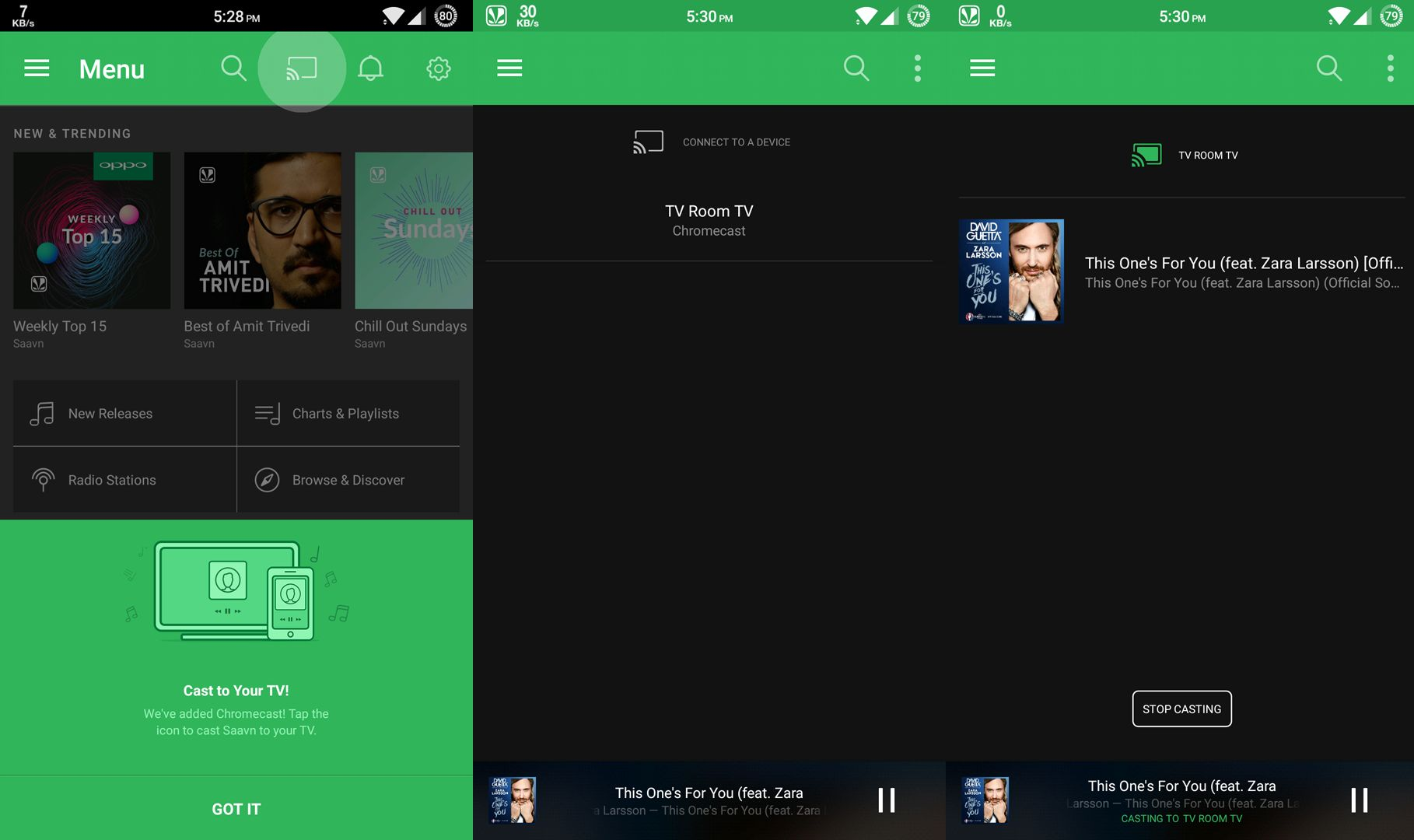 Saavn Android App