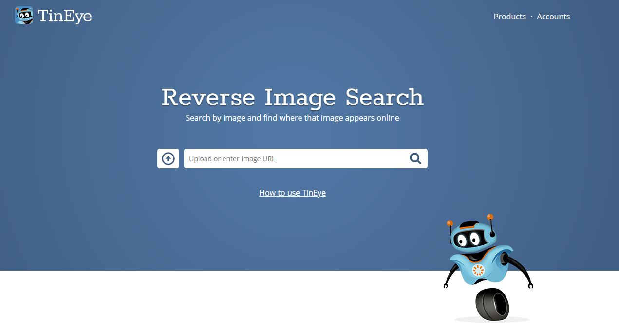 tineye reverse imgae search