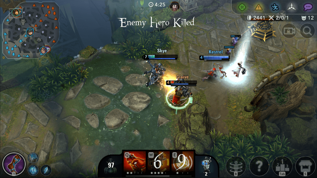 vainglory in game scene