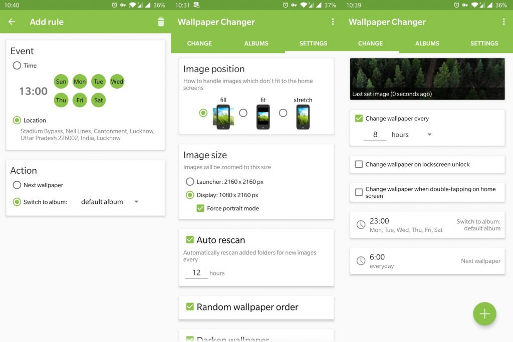 wallpaper changer offline android