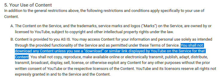 youtubes-terms-about-downloading-video