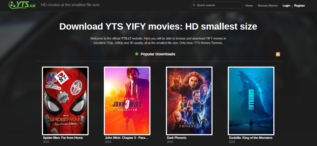 yts-yiffy torrent site